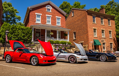 Photographed at the Corvettes at Roscoe Village in Coshocton, Ohio on June 12, 2016. Photo by Joe Frazee.