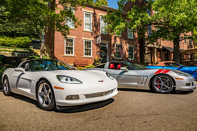 Photographed at the Corvettes at Roscoe Village at Roscoe Village in Coshocton, Ohio on June 11, 2017. Photo by Joe Frazee.