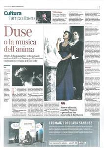 Corriere della Sera, Duse, Venerdì 1 Settembre 2017