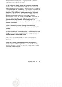 "Oncologia, la sala d'attesa diventa ""sala della musica"" - Cronaca - Alto Adige- pag 2"