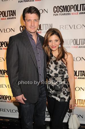 Nathan Fillion, Callie Thorne<br /> photo by Rob Rich © 2010 robwayne1@aol.com 516-676-3939