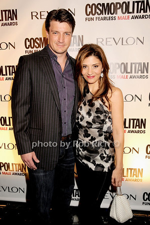 Nathan Fillion, Callie Thorne