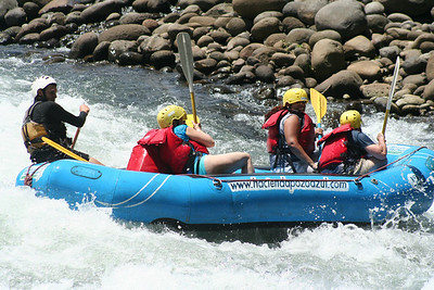 Costa Rica, White Water Rafting