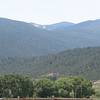 Photo of the Rio Costilla Ski area from our property in Amalia.