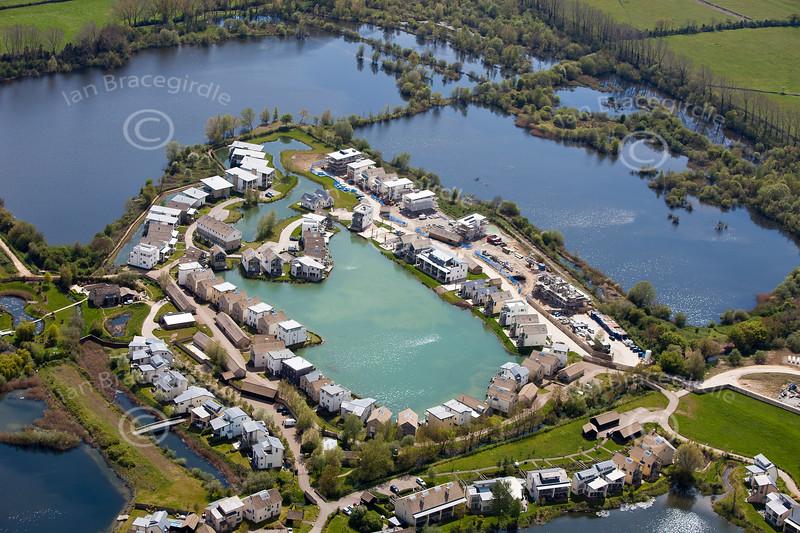 Cotswold Water Park - aerialphotos