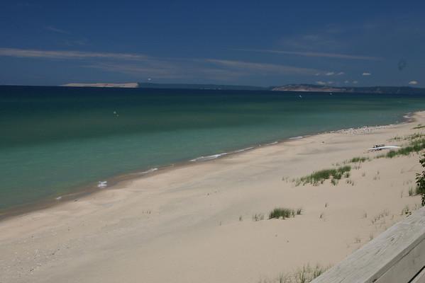 Deck - View of Sleeping Bear Dunes to northeast