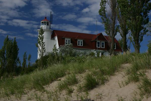 Point Betsie Light House - 1.5 miles southwest