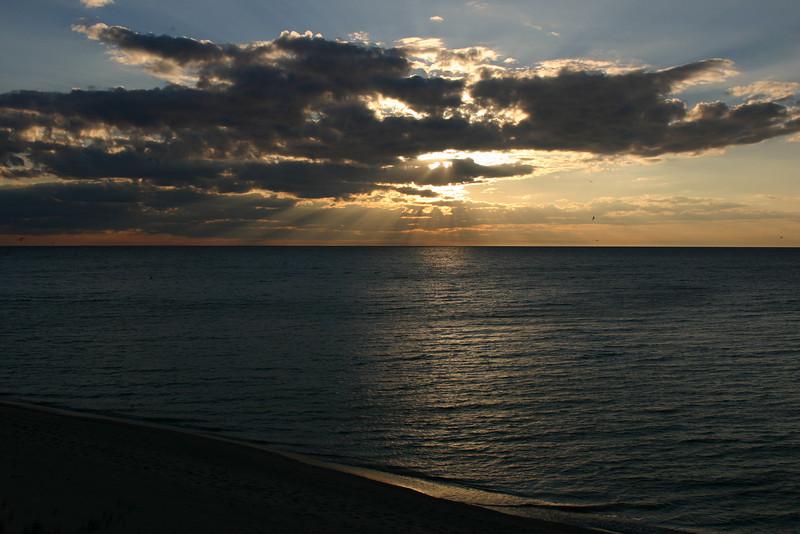 Deck - Sunset