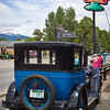 We saw this 1927 Chevrolet parked at this intersection in Buena Vista.