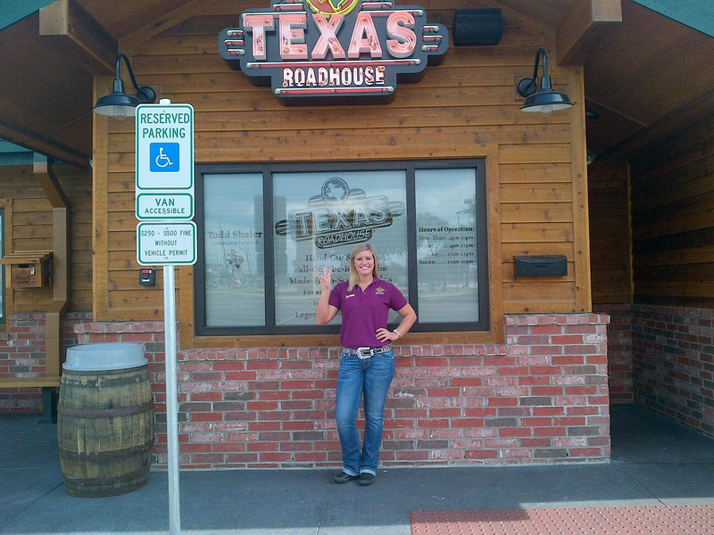 C  Campbell at Texas Roadhouse