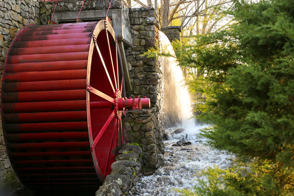 Water by Grist Mill