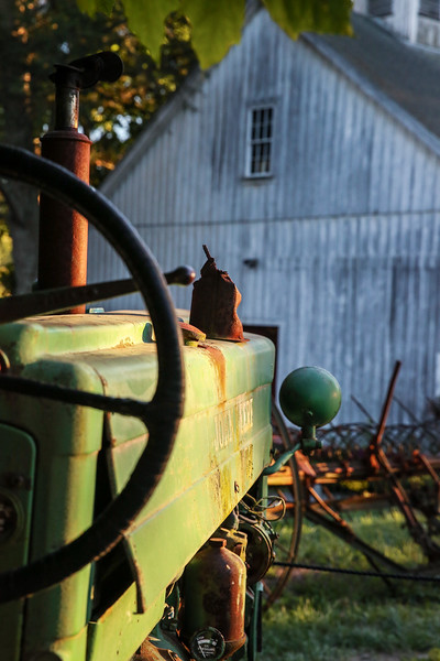 Tractor on Shelburne Farm