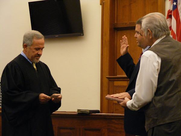 District 5 Commissioner Wesley Wainwright will serve another term as a Suwannee County commissioner.