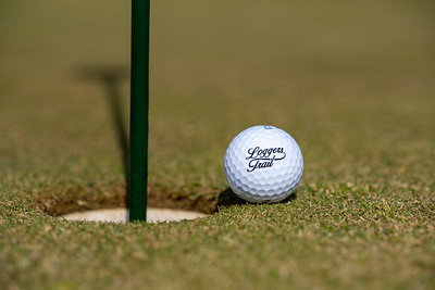Logo Ball Product Shot on Putting Green
