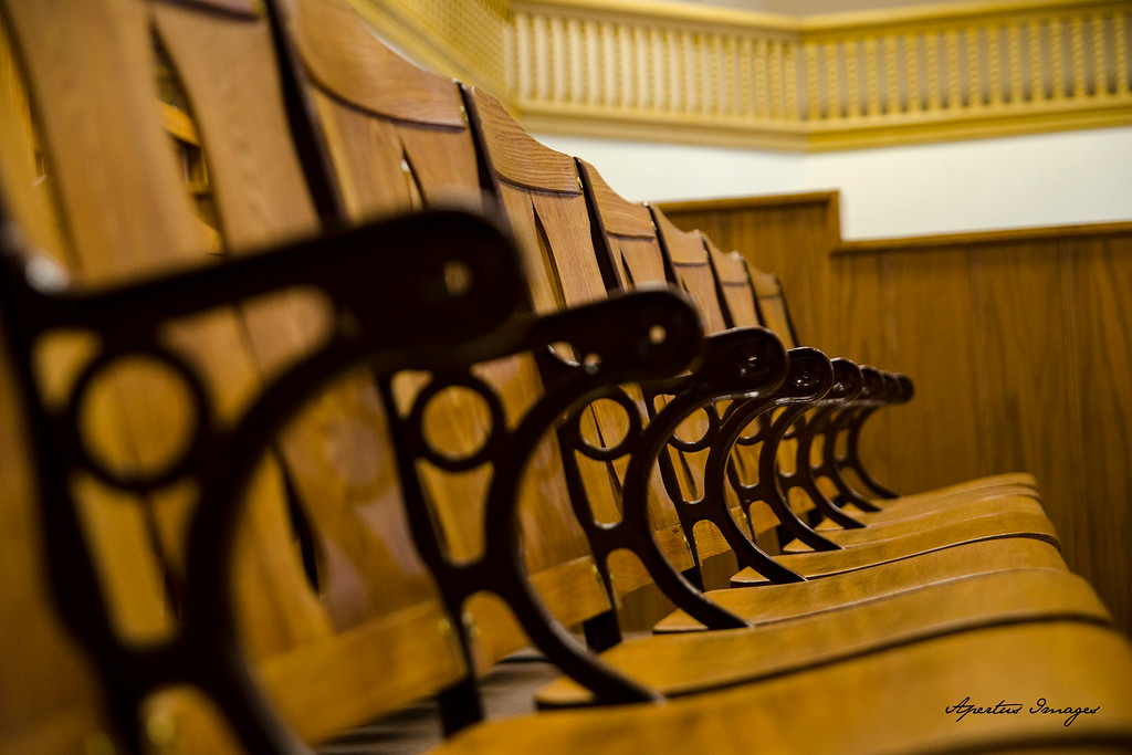 Jersey County Courthouse: Courtroom Chairs for the Public (2014)