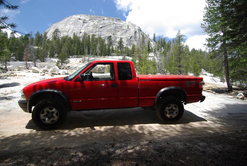 David's ZR2 on the Wana-Be Dusy Ershim Trail 6-14-2009