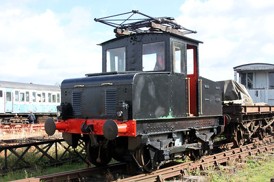 English Electric Dick Kerr Works 4wBE No1/905 Coventry Electric Railway Museum 11/09/11.