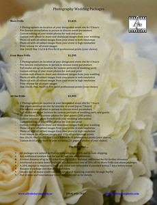 Microsoft Word - Photography Wedding Packages.docx