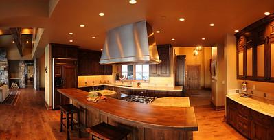 Partial pano kitchen