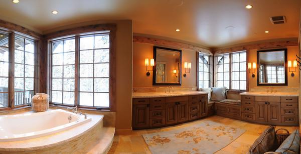 Partial pano master bath