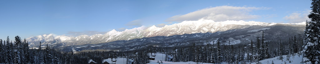 Partial pano view from deck