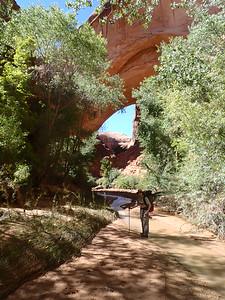 Miles and Jacob Hamblin Arch.