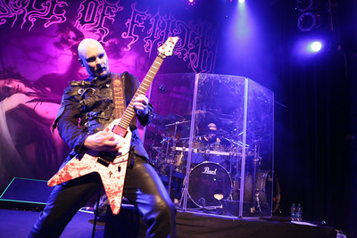 Cradle of Filth plays The Gothic Theater on Feb. 14, 2016. Photo by Michael McGrath, heyreverb.com.