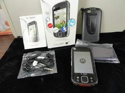 Used Motorola Cliq XT in box with original accessories