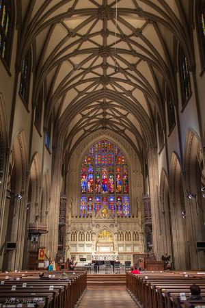 Trinity Church - Manhattan - Broadway and Wall Street