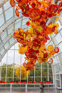 Dale Chihuly Glasshouse, Seattle, Washington
