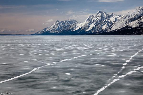 Lake Jackson and the Teton Range, Grand Teton National Park, Wyoming