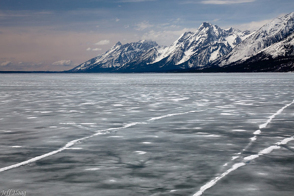 Lake Jackson and the Teton Range, Grand Teton National Park, Wyoming