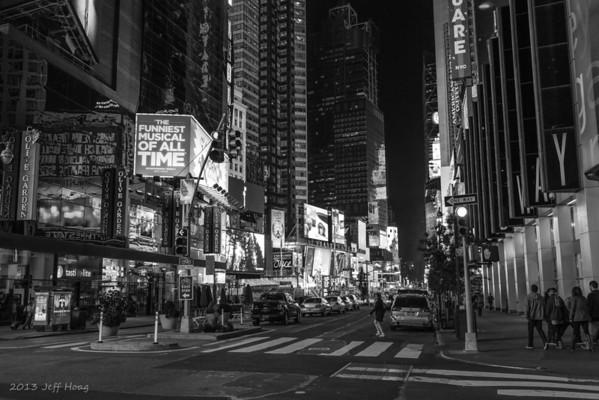 Broadway & W 48th, New York