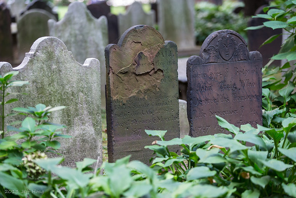 Trinity Church tombstones
