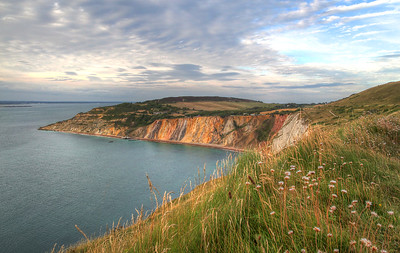 Colours of Alum bay