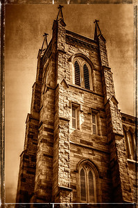 The St. Paul's Episcopal Church on corner of East High Street and North Gay Street in Mount Vernon, Ohio.