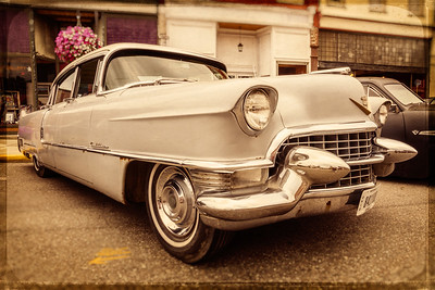 1955 Cadillac photographed during the 13th Cruisin Downtown in Loudonville, Ohio on July 6, 2013.