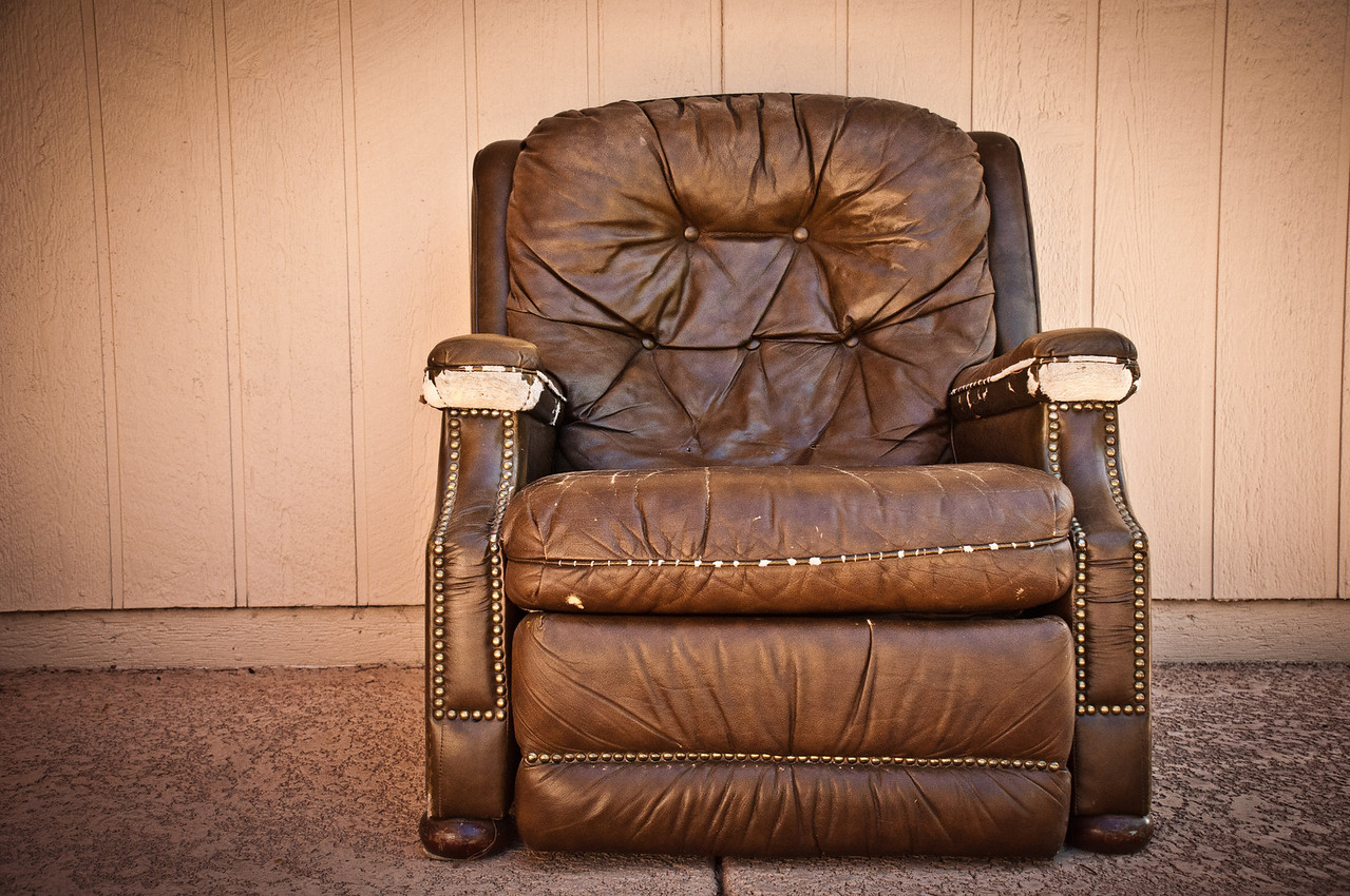 The Chair - A special memory of a friend's husband who passed away.
