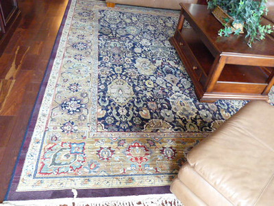 #6   $$$SOLD$$$ Large Den Rug:  $250 12' x 8'