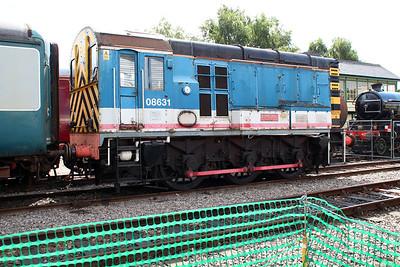 08631 'Eagle' at Dereham MNR   10/08/13