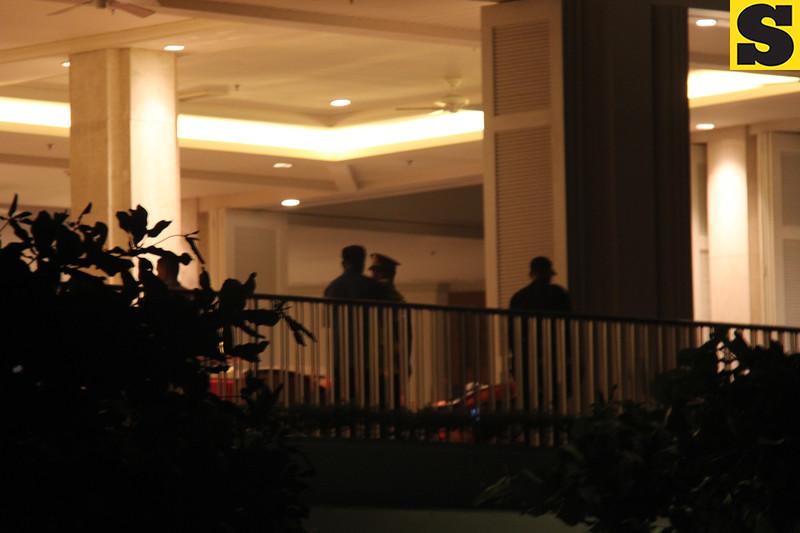 Security check in Shangrila Mactan