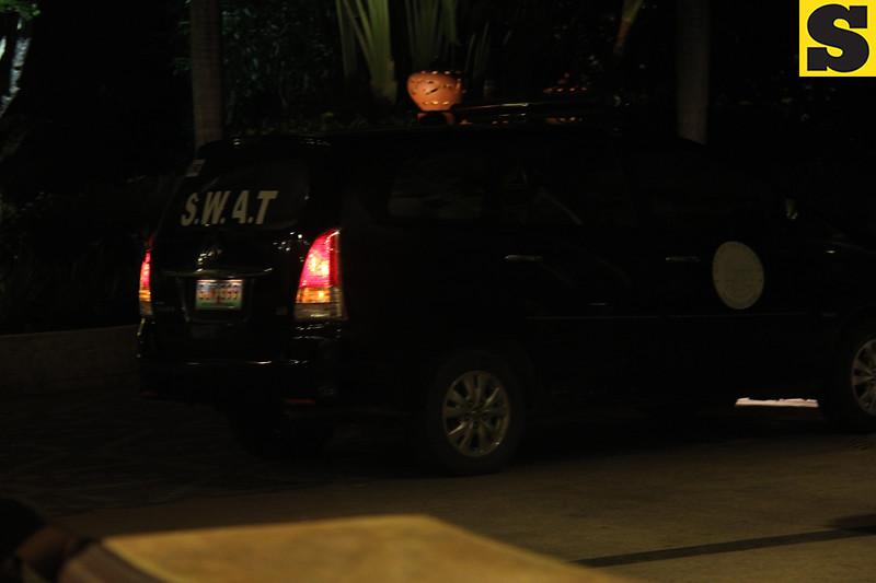 Swat team in Shangrila