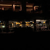 Hotel lobby in darkness