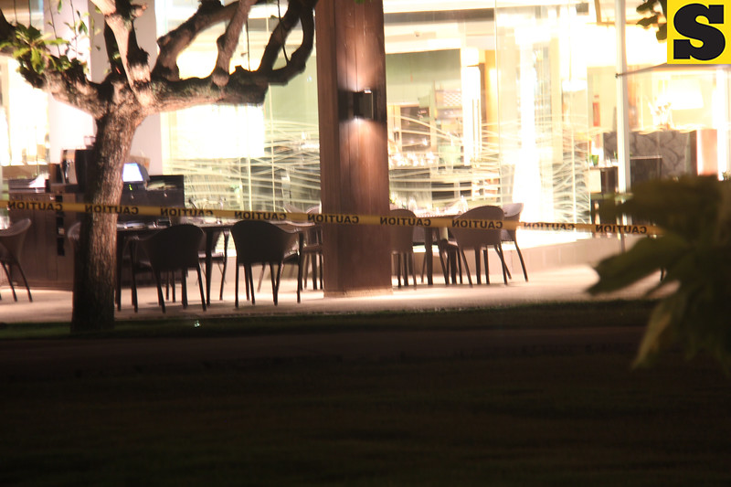 Restaurants cordoned at Shangrila