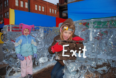 Ice Maze - Cripple Creek, CO Ice Festival