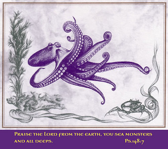 Creatures of the Sea I