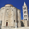 The ancient byzantine basilica of Saint Donatus in Zadar, Croatia