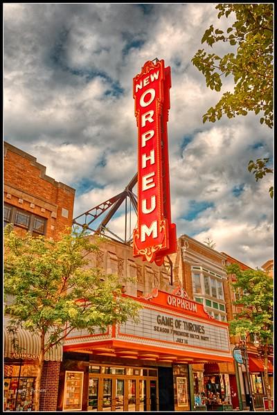 Orpheum Theater on State Street, Madison