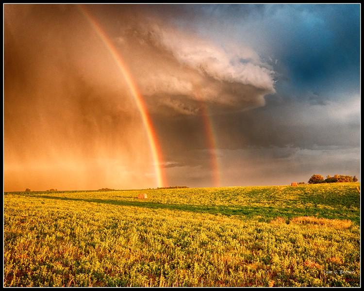 """""""Double Rainbow.""""  A Biblical promise?"""
