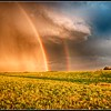 """Double Rainbow.""  A Biblical promise?"